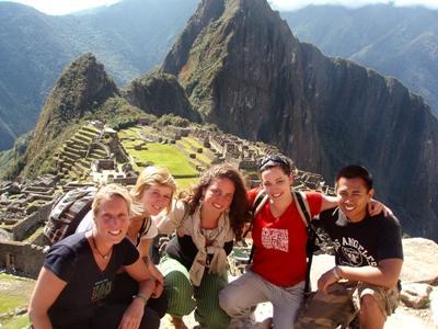 志工參與秘魯項目,前往聖谷地區遊覽馬丘比丘