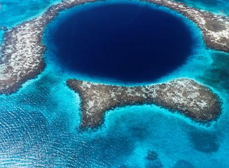 The Blue Hole near Belize