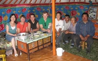 蒙古的社區文化項目
