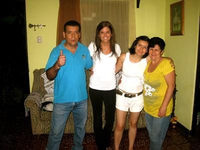 Projects Abroad哥斯達黎加志工與她的寄宿家庭
