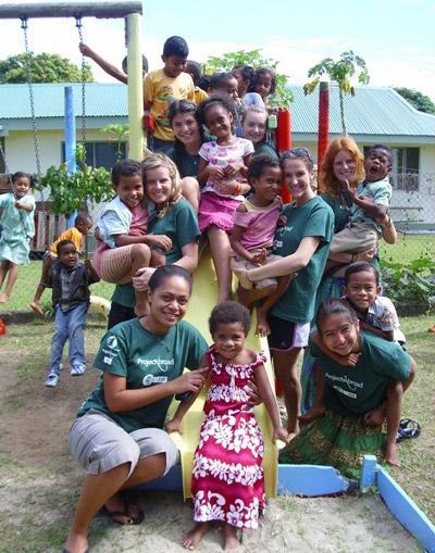 Volunteer vacation in Fiji