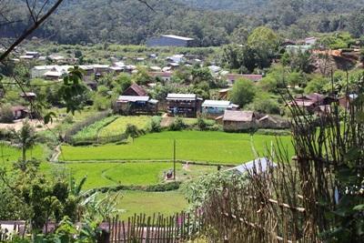 非洲馬達加斯加安達西貝村莊