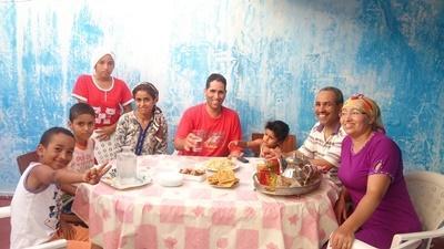 摩洛哥拉巴特的寄宿家庭