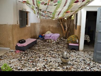 塞內加爾聖路易寄宿家庭的住宅庭園