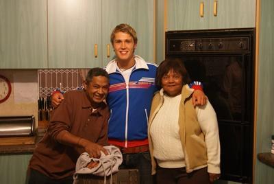 男志工在南非開普敦的寄宿家庭和家居環境