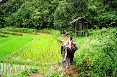 Projects Abroad泰國志工探訪當地的農村
