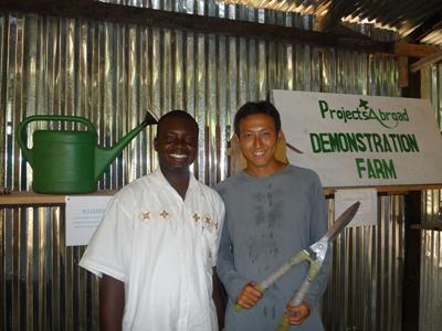 Projects Abroad在非洲有機農場的志工工作