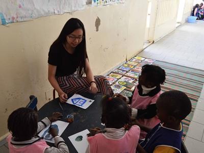 Projects Abroad志工旅遊前往塞內加爾,在幼兒園教導身心障礙兒童