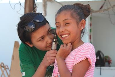 Projects Abroad志工參與外展醫學活動