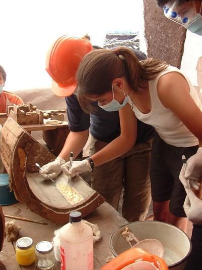 考古學項目志工