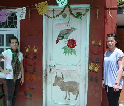 Projects Abroad志工在尼泊爾參與HIV/愛滋病援助工作
