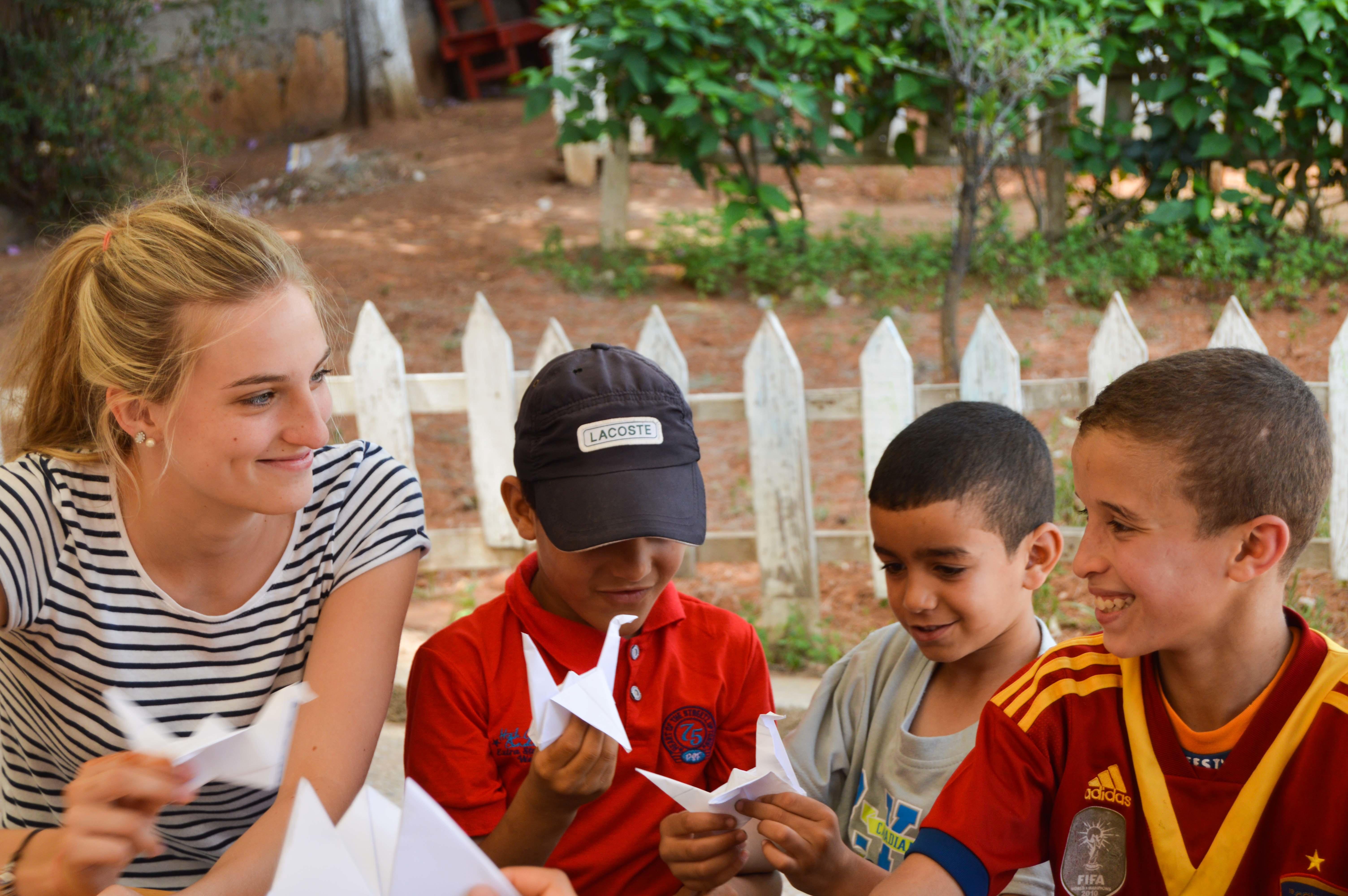 國際志工 摩洛哥