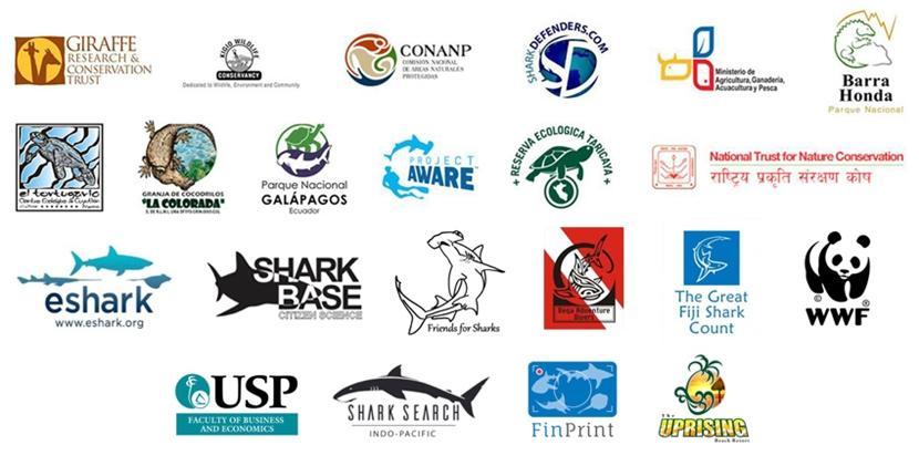 部分Projects Abroad環保項目的合作夥伴