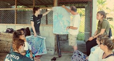 環保項目志工參與迎新簡介活動