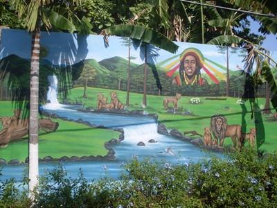 牙買加的關愛中心,也是關愛志工服務工作的地方