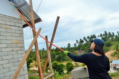 參與社區建設高中生志工營,到菲律賓幫助有需要的社群