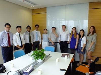 高中生參與中國法律志工營活動