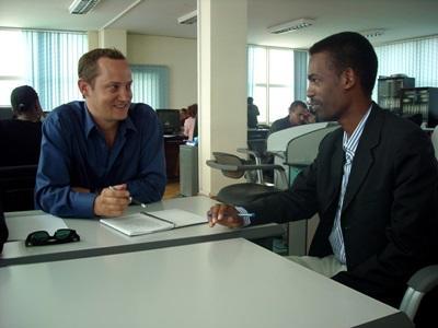 埃塞俄比亞新聞月目員工和機構員工見面討論