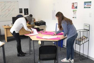 Projects Abroad新聞實習生已經準備好參與在南非開普敦開設的工作坊