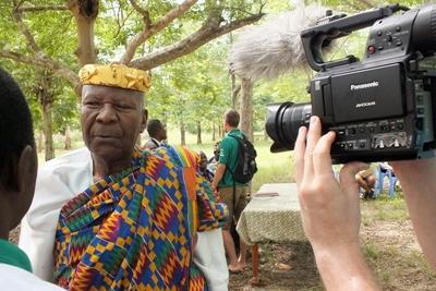 在多哥成為國際新聞實習生