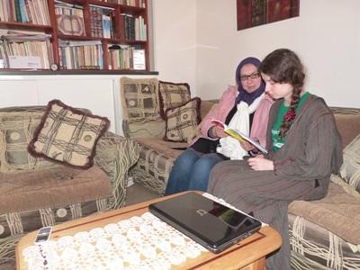 摩洛哥志工學習阿拉伯語