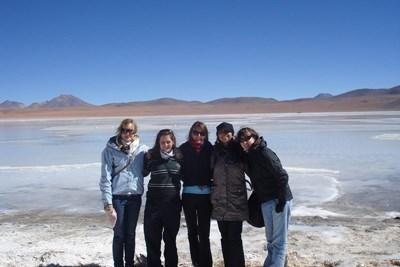 Projects Abroad志工來到玻利維亞欣賞當地雪景
