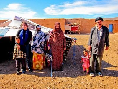 Projects Abroad志工跟摩洛哥游牧家庭一起生活學習塔馬塞特語