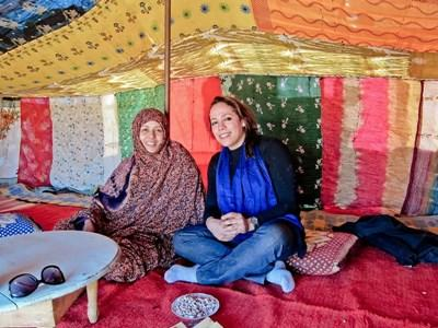 Projects Abroad志工跟隨游牧家庭一起生活,學習當地的塔馬塞特語