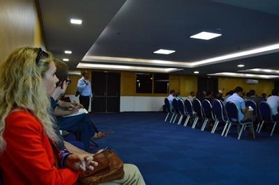 Projects Abroad人權實習生出席會議討論摩洛哥的死刑.