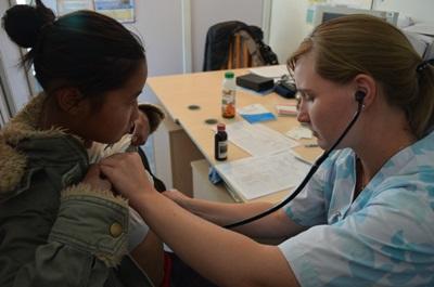 醫科生參與Projects Abroad在蒙古的醫學選修項目