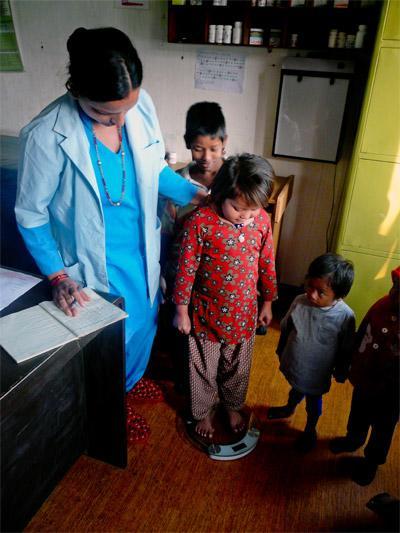 護理學生參與國外的Projects Abroad尼泊爾選修項目