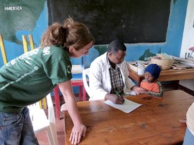 Projects Abroad坦桑尼亞護理選修項目學生