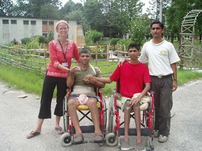 Projects Abroad在尼泊爾的物理治療選傷實習工作