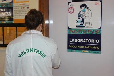 Projects Abroad醫學實習生在南美國家秘魯的醫院工作