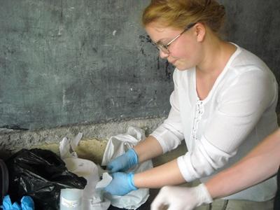 志工在多哥的診所進行助產實習項目