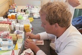 斯里蘭卡的藥劑學實習項目: 藥劑學項目