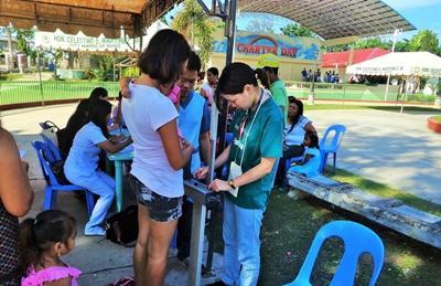 Projects Abroad志工參與菲律賓的公共健康實習項目