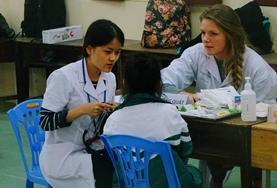 國際志工 藥劑學項目