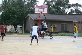 國際志工 籃球項目