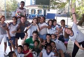 國際志工 社區體育項目