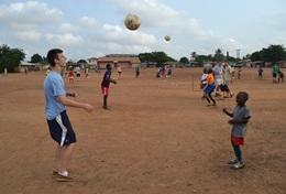 國際志工 足球項目