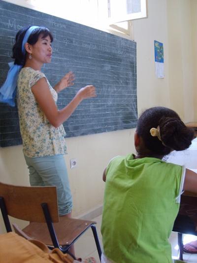 Projects Abroad志工在摩洛哥學校教授英語