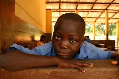 在加納教學志工項目遇見的男學生