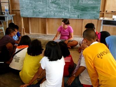Projects Abroad泰國教學志工負責帶領學生參與課堂學習