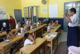 國際志工 緬甸