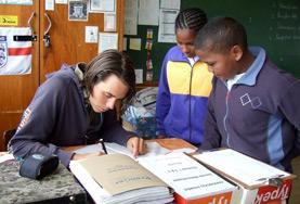國際志工 南非