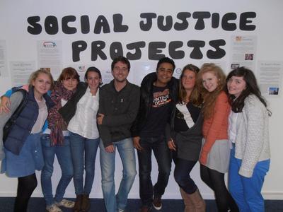 參與南非高中生志工營活動,認識如何提升大眾的人權意識
