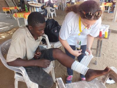 多哥的公共健康實習項目