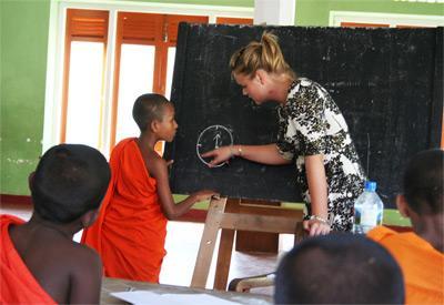 斯里蘭卡的教學志工工作